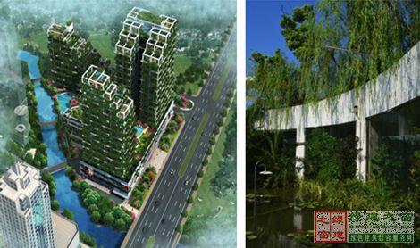 垂直森林或立体绿化建筑不但健康舒适,同时也充分展现了人与自然