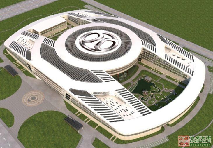 【北京】北京汽车产业研发基地(三星级)