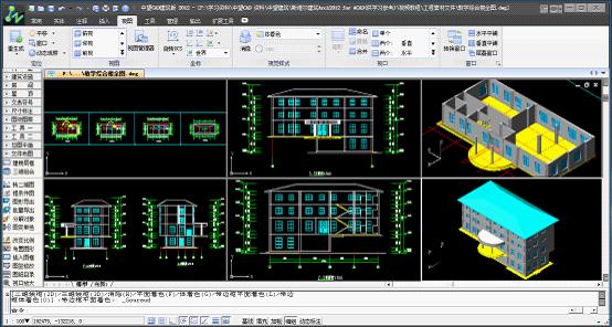 中望cad建筑版2014_中望CAD建筑版_设计建模_绿建软件_绿建资讯网